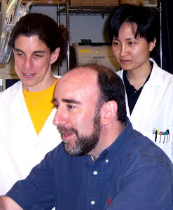 2006 Hartwell Investigator Frederic G. Barr, MD, Ph.D. (front) with coworkers