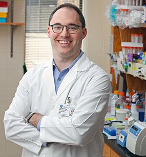 2017 Hartwell Investigator Nicholas Heaton, Ph.D., Duke University